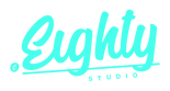 eighty logo vector Green_Eighty concept.