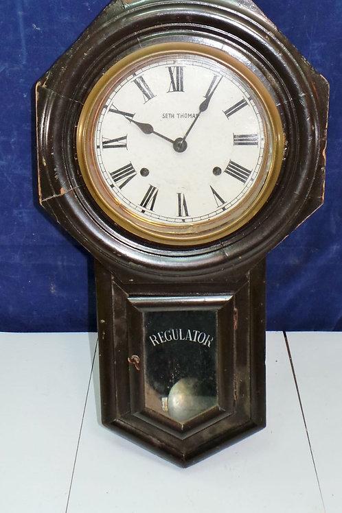 Seth Thomas Regulator Wall Clock