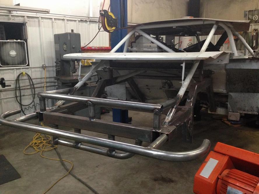 CCI Racing Rear Clip Repair