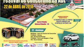 Festival de Concertina da ADL - 22/04