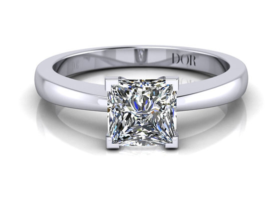 Proposal Ring - Victoria (white gold)