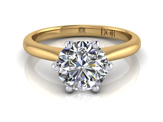 Proposal Ring - Ardmore (yellow / white gold)