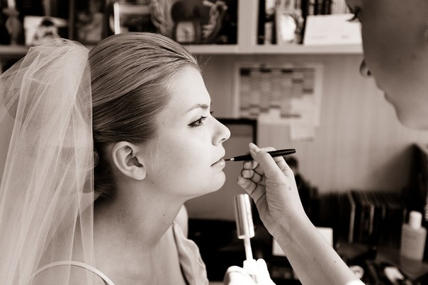 wedding day, trucco sposa