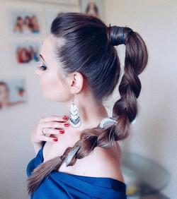 Happy Sunday💕__#instafashion #loosecurls #hairdo #curlyhair #curlygirls #косы #fashion #capelli #ul