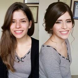 Prima e dopo😊__Model_ _ely_sa91 💜_Make up & Hair_ Irina Farfallina_~~~~~~~~~~~~~~~~~~~~~~~~~~~~~~~