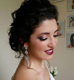 Ждете новое видео, как моя модель смотрит на себя в зеркало в новом образе_ 👯_#trucco #mua #makeup