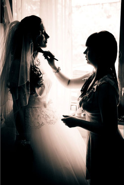 wedding day, make up bridal