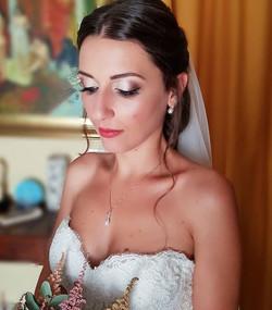 La bellissima Virginia👰_#sposa #bridalmakeup #matrimonio #sposapalermo #bride #capelli #truccopaler
