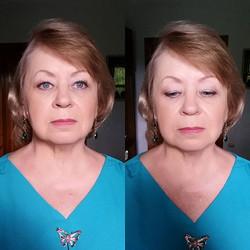 _________________________________________________Model_ la mia mamma Tatiana 💜_Make-up_ Irina Farfa