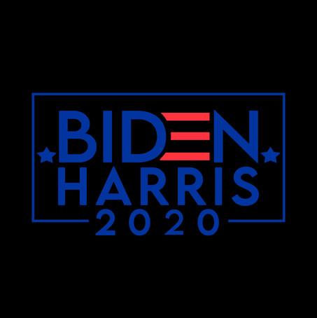 BIDEN  HARRIS 2020 CAMPAIGN STICKER