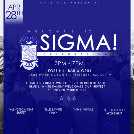 Welcome TO SIGMA Flyer