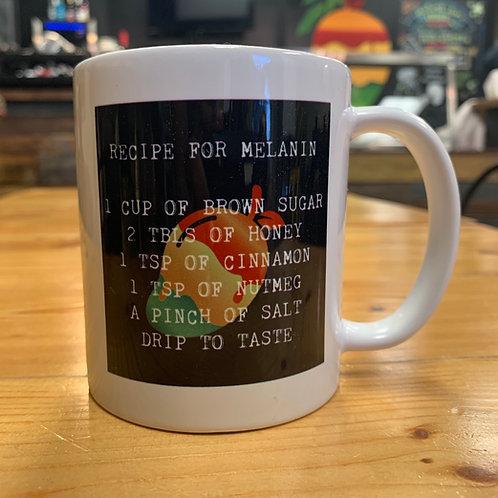 Melanin Recipe Mug
