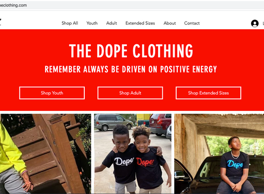 The DOPE Clothing!