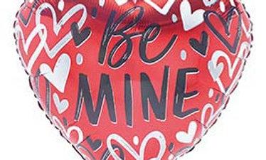 17in Valentine Heartbreaker Be Mine