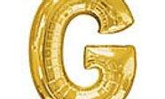 "34in Letter ""G"" Balloon"