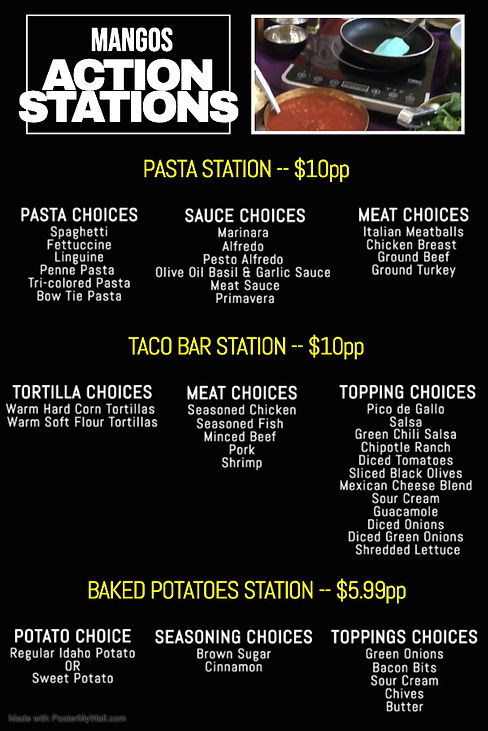 Menus_ActionStations2 - Made with Poster