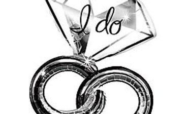 30in Wedding Rings