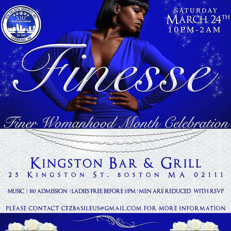 2018 FINESSE FINER WOMANHOOD PARTY