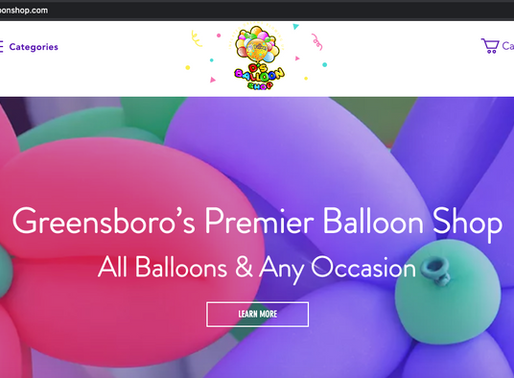 D's Balloon Shop!