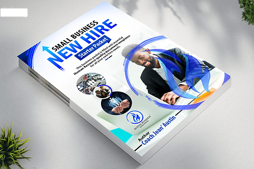 Small Business New Hire Starter Packet, 90 plus pages