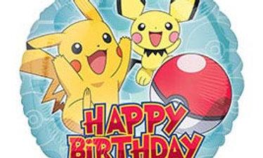 17in HBD Pokemon