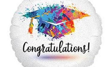 18in Painterly Grad Congratulation