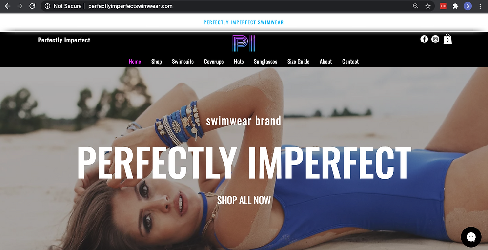 Web and Graphic Design - Creative Courtois - PI Swimwear