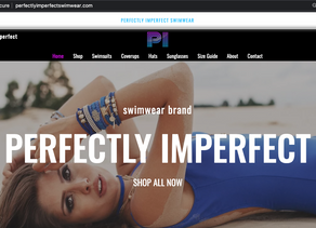 Perfectly Imperfect Swimwear!