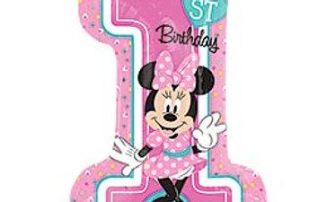 28in Minnie 1st Birthday