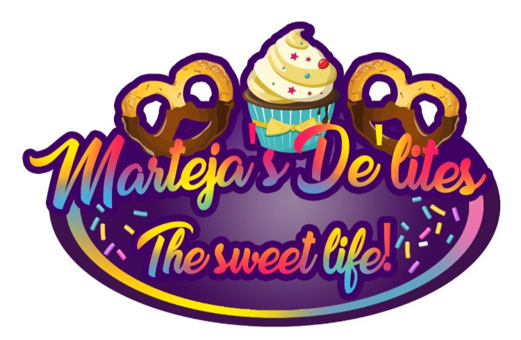 Web and Graphic Design - Creative Courtois - Marteja's De'Lites - The Sweet Life