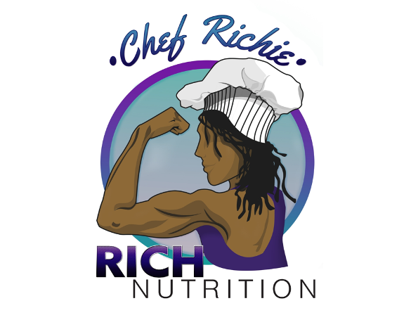 Web and Graphic Design - Creative Courtois - Chef Riche Rich Nutrition