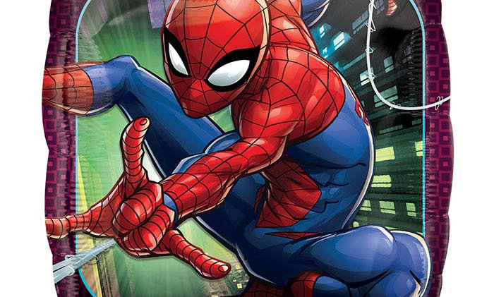 17in Spiderman Animated