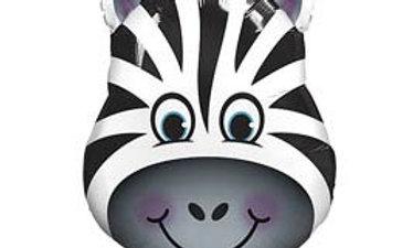 32in Zany Zebra