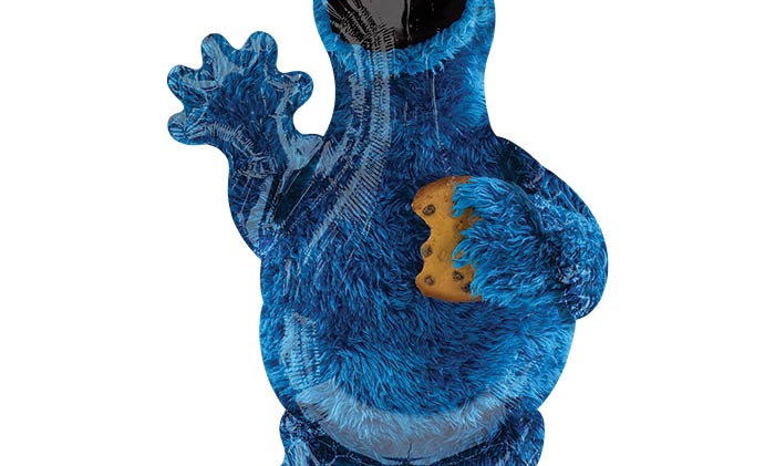 35in Cookie Monster