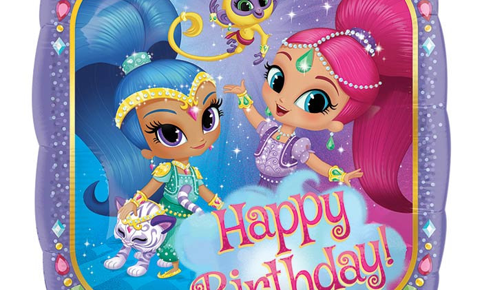 17in HBD Shimmer and Shine