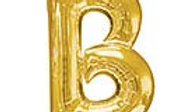 "34in Letter ""B"" Balloon"