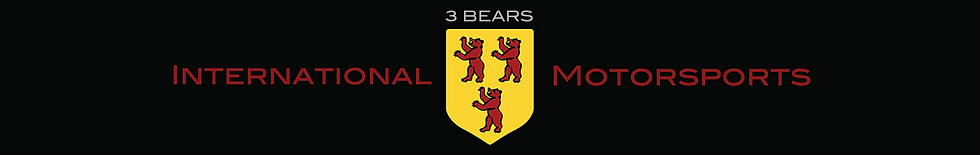 3 Bears International Motorsports Logo