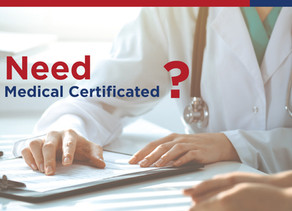 Need Medical Certificated ?