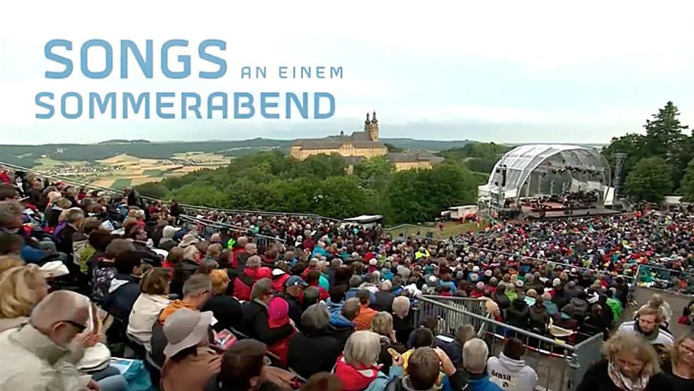 """Moderation der """"Songs an einem Sommerabend"""" im Bayerischen Rundfunk (2016)"""
