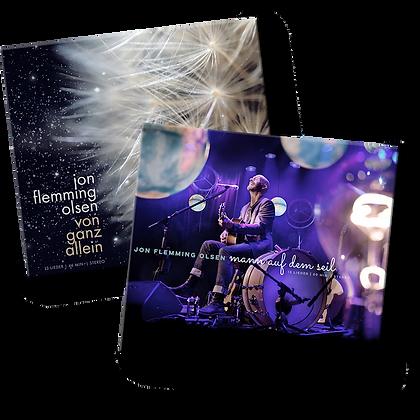 """CD-Bundle """"Mann auf dem Seil"""" & """"Von ganz allein"""""""