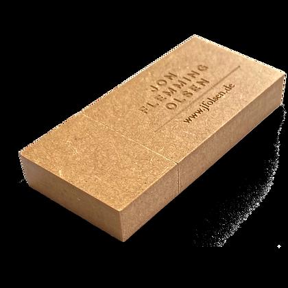 USB-Stick, alle drei Alben, MDF (Recycling), 2GB
