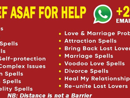 Chief Asaf Simple love spells in New York +27768521739
