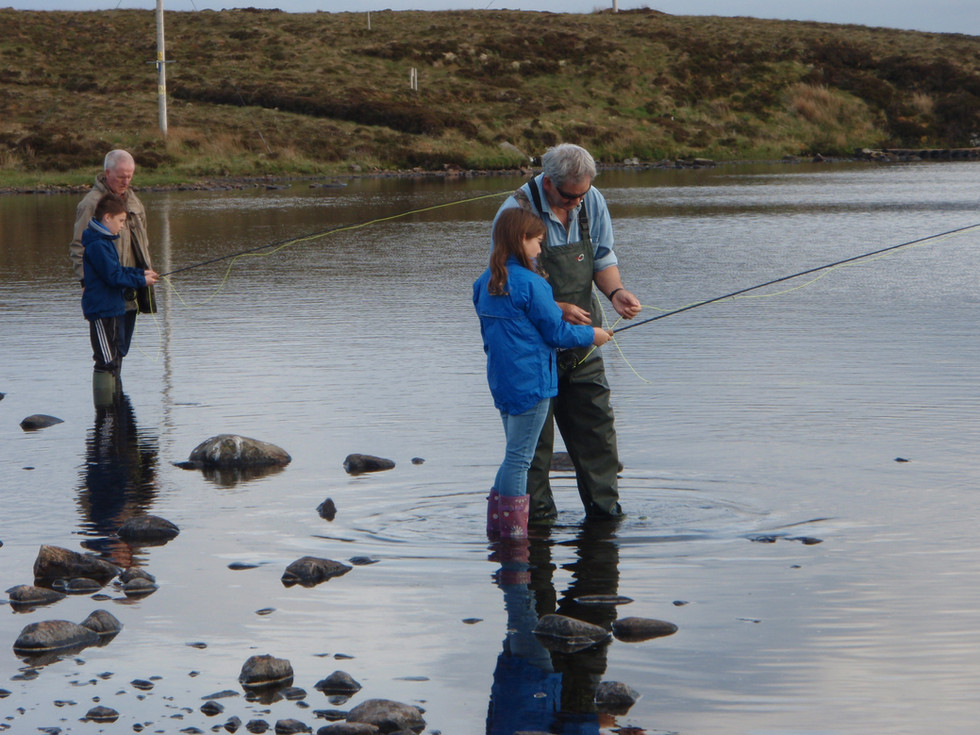 Stornoway Angling Association - fly casting tuition