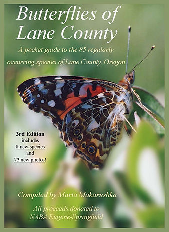 "Cover of ""Butterflies of Lane County"""