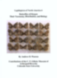 """Cover of """"Butterflies of Oregon:  Their Taxonomy, Distribution, and Biology"""""""