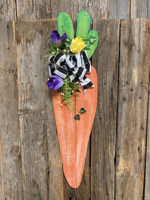 Wooden Carrot