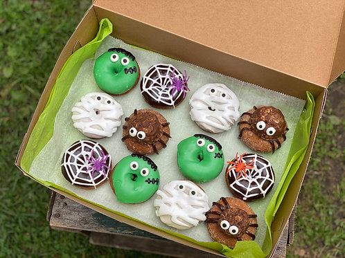 Halloween Donuts - Dozen