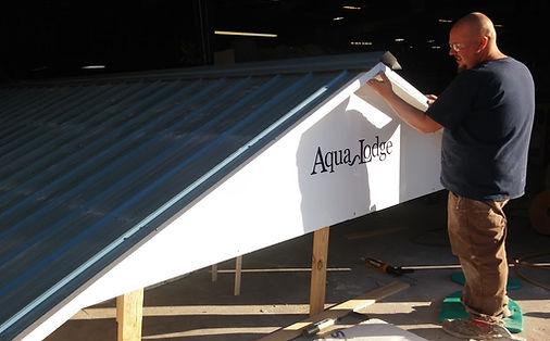 Building an Aqua Lodge