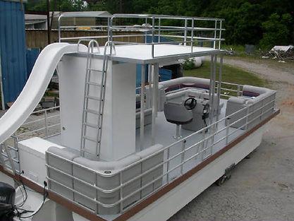 Catamaran Cruisers Pontoon Beast Boat