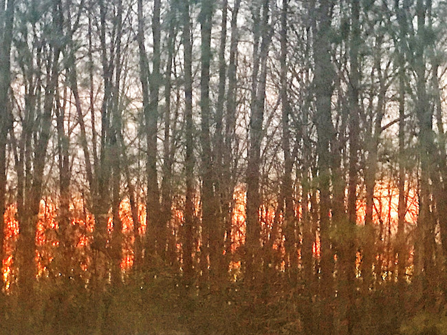 Sunset from the Kiln